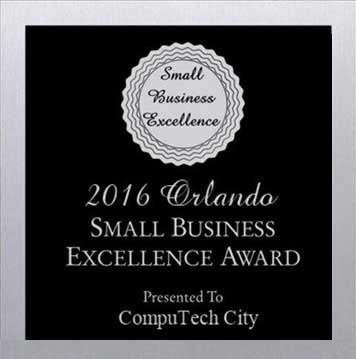 Small Business Excellence award